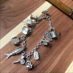 Jewelry - Vintage Asian culture Inspired Charm 925 Sterling